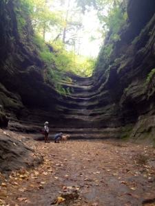 Starved Rock State Park in Illinois. What a spectacular place!